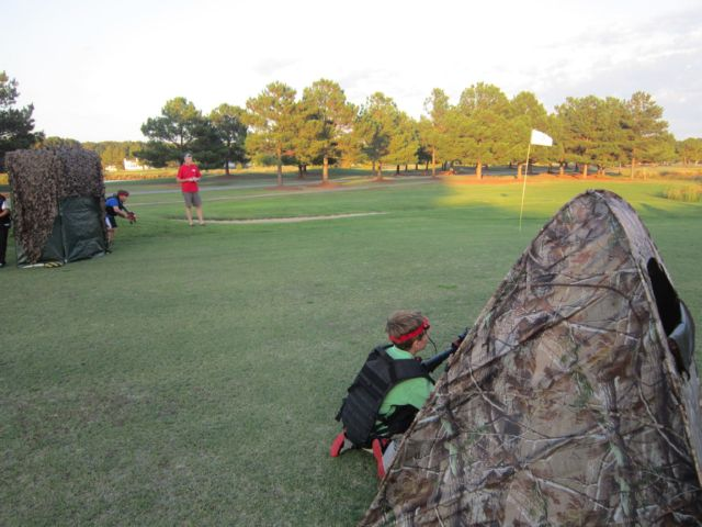 Golf Course Laser Tag