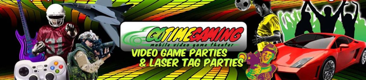 Go Time Gaming – Central North Carolina Mobile Video Game Truck & Laser Tag Party